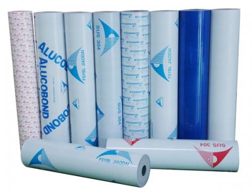 关于铝塑板保护膜与铝塑板表面粘合性能的调节