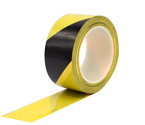 黑黄地板胶带